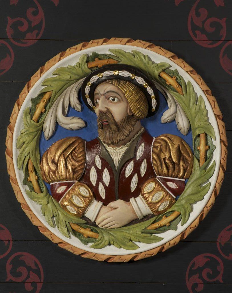 James V replica Stirling Head
