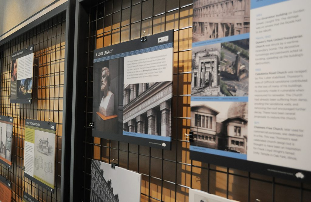 Exhibition on Alexander Greek Thomson at the Engine Shed, Stirling