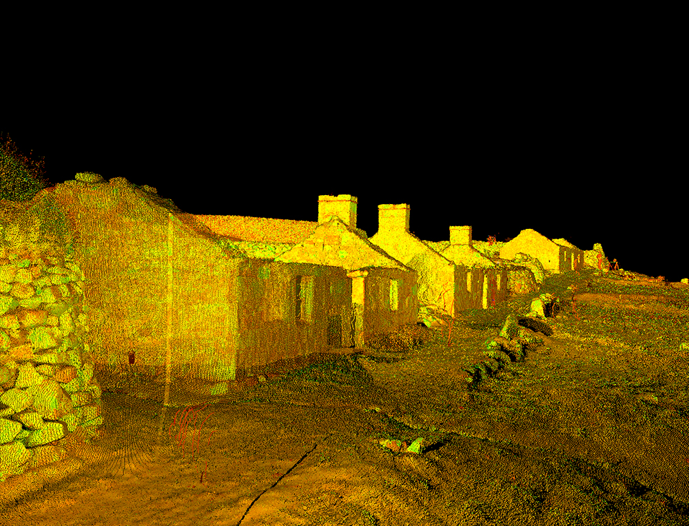 3d scan of St Kilda for Scottish Ten project