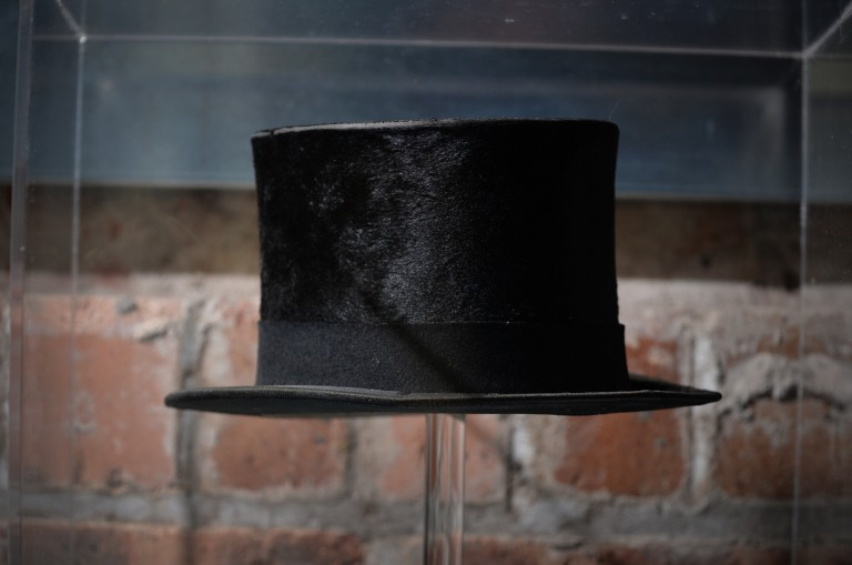 A traditional hat made from beaver fur