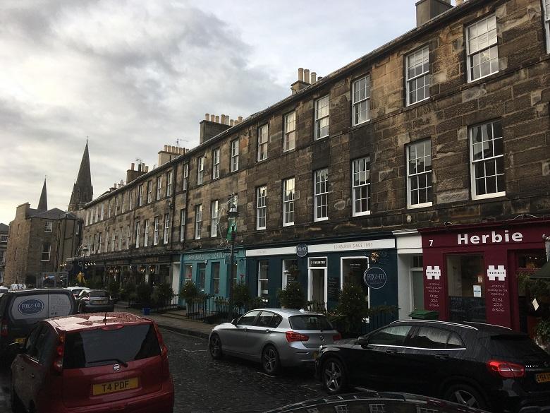 Photo of William Street in Edinburgh