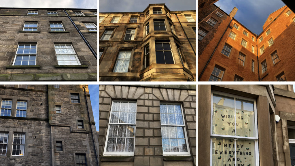 Various tenement windows