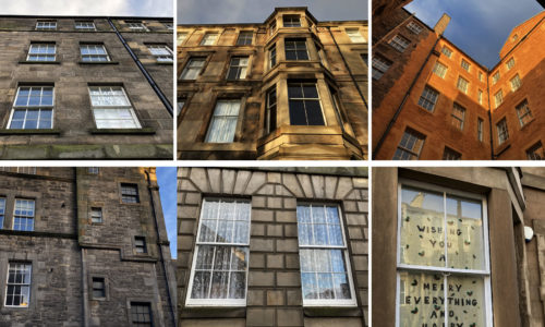 Exploring tenement building details: a walk around Edinburgh