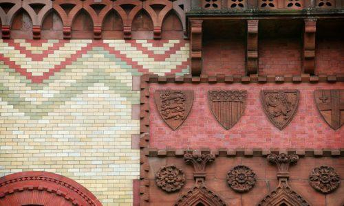 Scotland's beautiful brick buildings